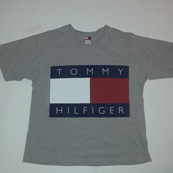 Vintage TOMMY HILFIGER Oversized Double Sided Flag
